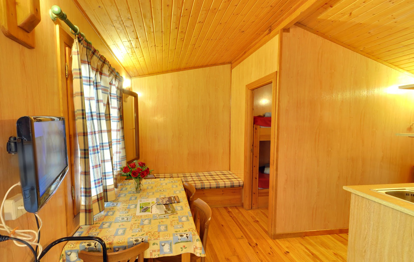 Cabañas madera camping Pirineo